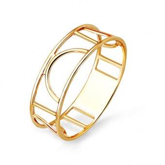 Купить Кольцо классическое из золота без вставок (Золото 585 пробы) по цене 6180 в интернет-магазине «АЛМАЗ-ХОЛДИНГ»